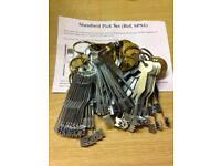 Standard pick set sps1 Chubb era union try out keys