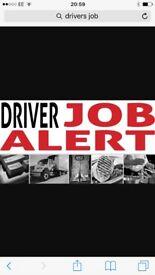 Drivers job wanted car van 3.5T 7.5T