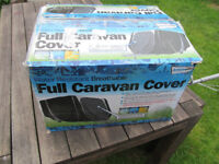 Leisurewize Caravan Cover 19 to 21ft Heavy Duty Breathable Charcoal/Grey 3 ply