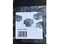3 X ACO HEX CORNER UNIT / QUAD BOX