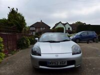 Toyota MR2 Roadster 2002 excellent condition, new MOT