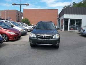 2006 Mazda Tribute SUV AWD Safety And E test