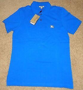 Bright Opal Burberry Shirt Polo Shirt Size M