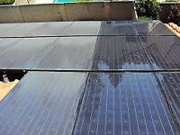 Solar panel cleaning, 20-30% increase in effeciency. Conservatory cleaning. Window cleaning.