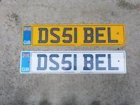 CAR REG FOR SALE ON RETENTION. BEST OFFER.