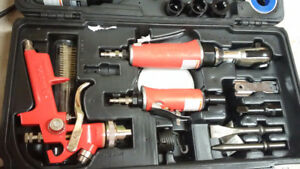 Husky 5 Piece Air Tool Set - Great Condition