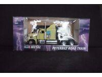 Revell die-cast metal 1:24 Peterbilt Road Train