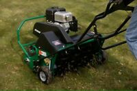 Cheapest Lawn Aeration!!