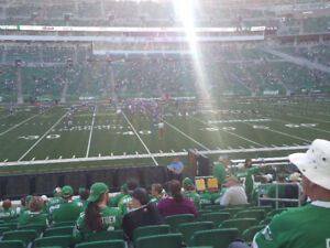 2 great tickets to Riders vs Lions