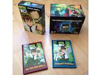 Ben 10 Alien Force DVD Collection Box sets & Books