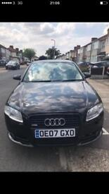 AUDI B6 AUTOMATIC 2007 S LINE LOW MILEAGE SPECIAL EDITION