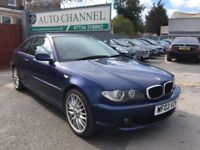 BMW 3 Series 2.0 318Ci SE Coupe 2dr Petrol Manual (180 g/km, 143 bhp)£1,995 p/x welcome