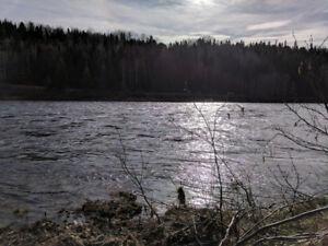 Terrain de Villégiature sur Rivière Métabetchouan au Lac-St-Jean