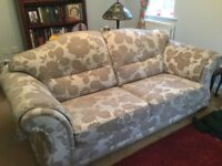 Stunning pair of Wade grand sofas in fabulous condition £500each or £900 for pair