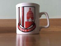 Stoke City FC mug Coffer Sports Northampton 1976 Football