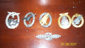 Reproduction WW2 German Army Badges