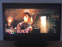 """42"""" Samsung LCD HD tv with HD freeview remote hdmi's"""