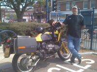 BMW R100GS. The ICONIC BUMBLE BEE. VERY LOW MILEAGE. TOTALLY ORIGINAL.