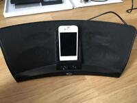 Klipsch speaker dock for old style iPhone/iPod with aux input