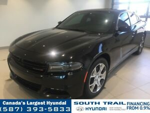 2015 Dodge Charger AWD SXT - SUNROOF, NAV, HEATED SEATS, CHROME