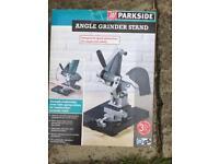 Parkside Angle grinder stand
