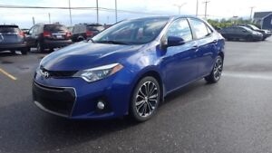 2014 Toyota Corolla S -BLUETOOTH-CLIM-CRUISE-CUIR-TOIT OUVRANT-M