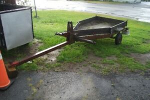 2 small utility trailers-cheap!