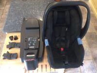 Recaro Privia Rear Facing Seat with Recaro Isofix Base