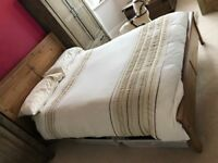Ikea double bed with matress - £50