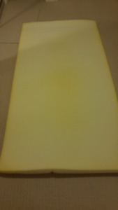 """Dorm Room 2"""" Foam Mattress Topper Twin and Twin Quilt with Sham"""