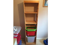 Ikea Trofast Tall Frame with shelves and storage Tubs