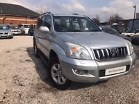2005 Toyota Land Cruiser 3.0 D-4D LC4 5dr FSH+2 PREVIOUS OWNER+SUNROOF
