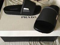 Brand New Unisex Prada sliders 6.5 UK size