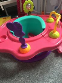 Baby girl play seat