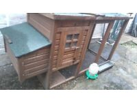 Chickenshack suitable four hens (h)1030(w)775(l)2000mm