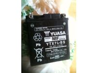yusas YTX7L-BS - very good condition battery