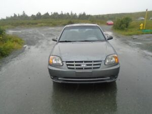 2005 HYUNDAI ACCENT ONLY 126,000 KILOMETERS