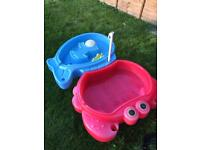 Little tikes sandpit and water tray