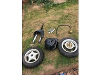 Moped engine and other parts
