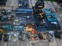 wanted power tools any condition spares or repair garage clearance house clearance uplift and tools