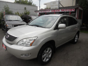 2004 Lexus RX 330 SUV  165kms only Loaded $7395