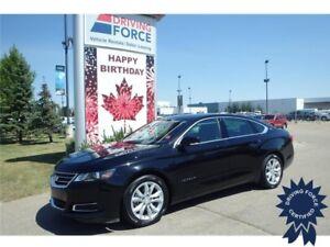 2016 Chevrolet Impala LT Front Wheel Drive - 39,254 KMs, Seats 5