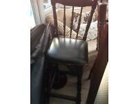 Bar stools x 2