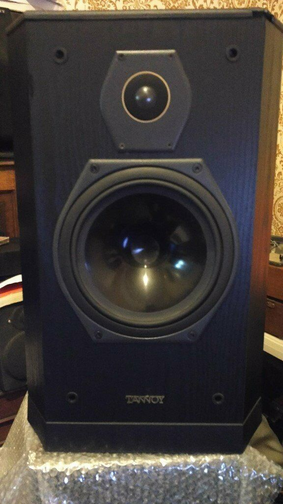 speakers in box. tannoy 607 sixes series pair speakers in very good condition, inc box