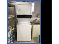 USA made White-Westinghouse Laundry Centre Washer Dryer 15Kg White