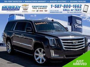 2015 Cadillac Escalade ESV **Sunroof!  CUE system!**