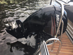 ACT FAST: Almost New 2015 Mercury 150 HP 4 Stroke Outboard Motor