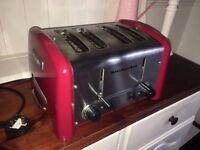 KitchenAid toaster. Postage possible (PayPal)