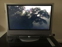 "SONY BRAVIA 32"" LCD DVB TV WITH TV STAND"