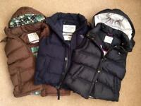 Jack Wills & Abercrombie Gillet Bundle - Like New